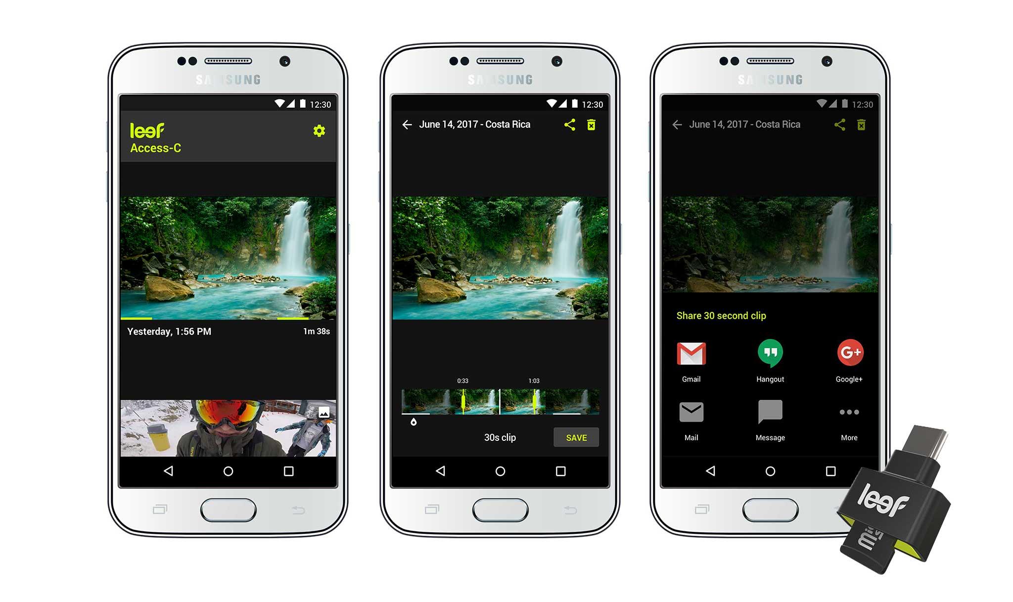 Leef Mobile App