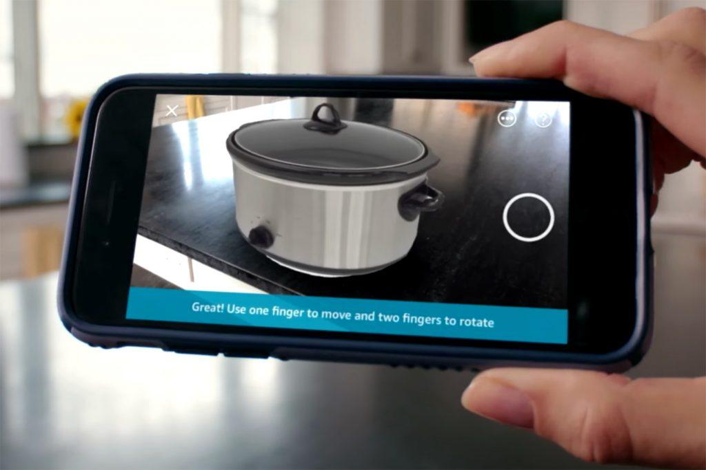 Amazon AR cooking pot