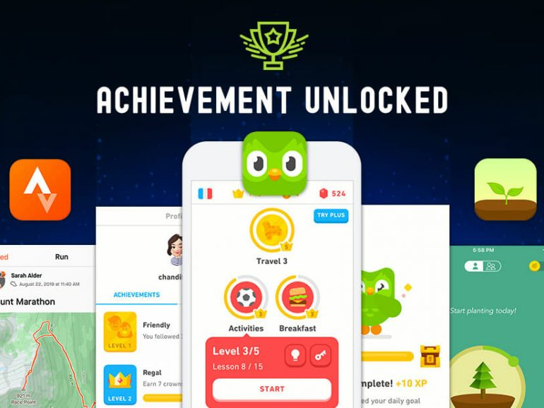 How Gamification Has Catapulted Duolingo, Strava, and Forest to the Top of their Respective App Categories