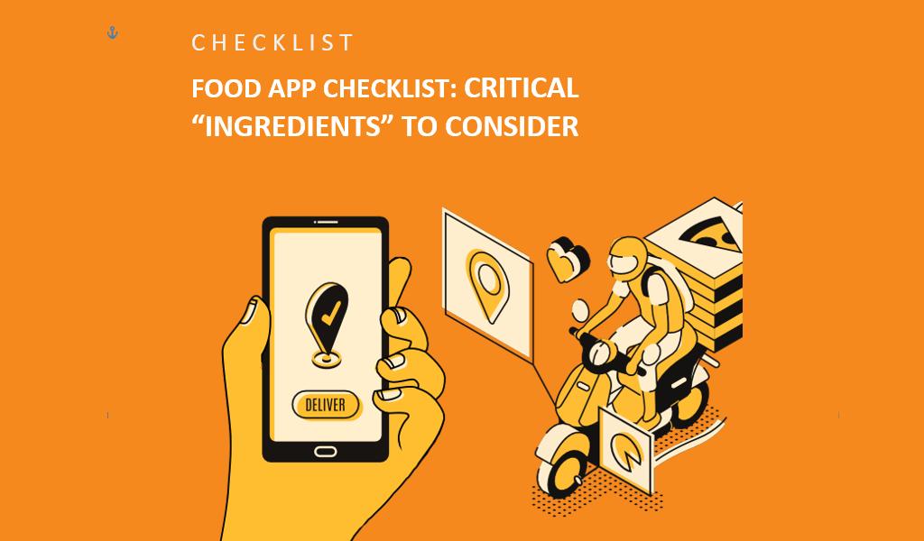 Checklist to Make a Perfect Restaurant App