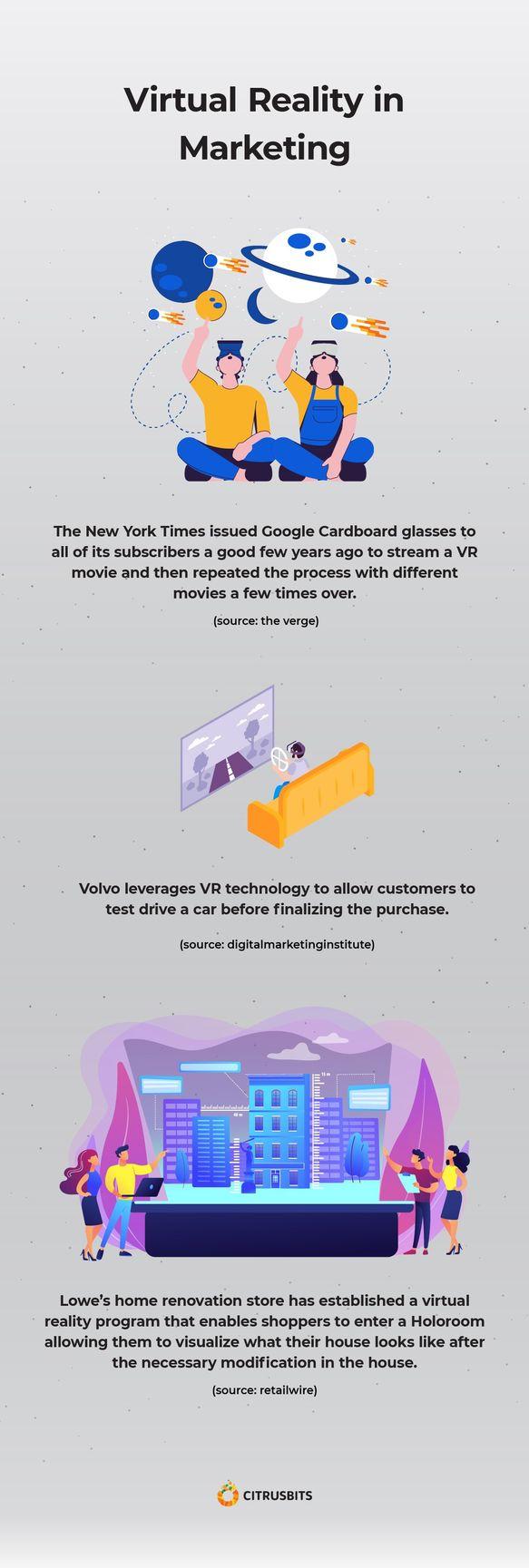 VR in marketing